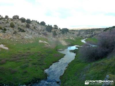 Puentes Medievales Río Manzanares; senderismo en portugal parque nacional de madrid rutas por las m